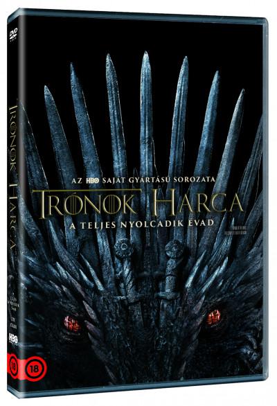 Több Rendező - Trónok harca 8. évad - DVD