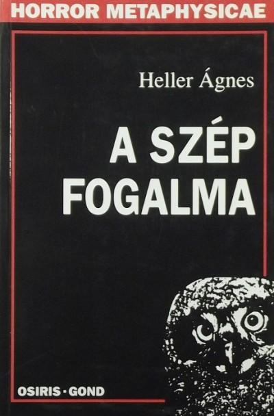 Heller Ágnes - A szép fogalma