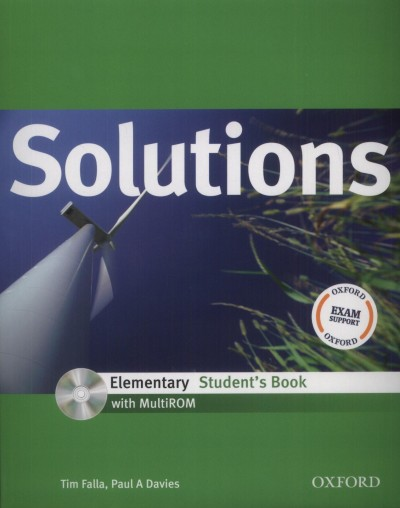 Paul A. Davies - Tim Falla - Solutions Elementary Student's Book