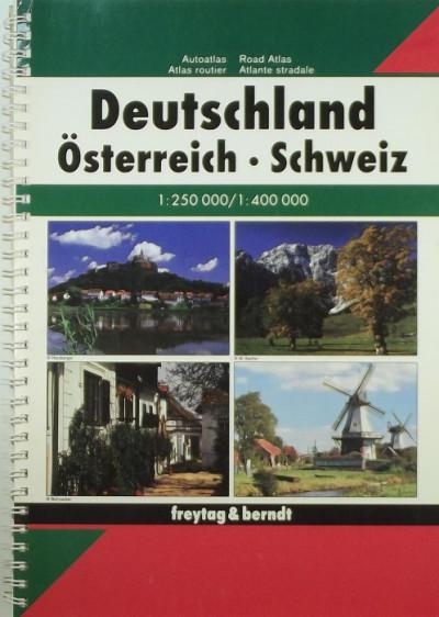 - Deutschland - Österreich - Schweiz 1:400 000