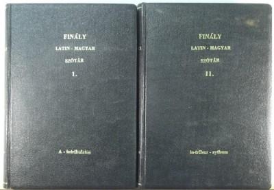 Finály Henrik  (Szerk.) - A latin nyelv szótára