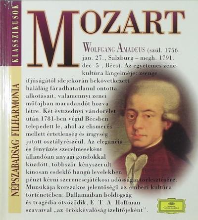 - Wolfgang Amadeus Mozart (1756-1791) + CD