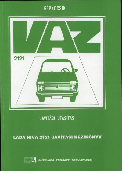 - Lada Niva 2121 javítási kézikönyv