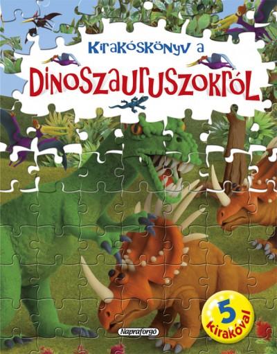 - Nagy kirakóskönyv - Kirakóskönyv a dinoszauruszokról