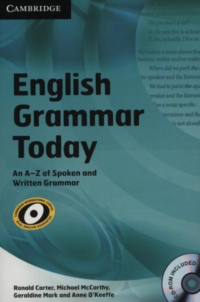 Ronald Carter - Geraldine Mark - Michael Mccarthy - O'Keeffe Anne - English Grammar Today Book