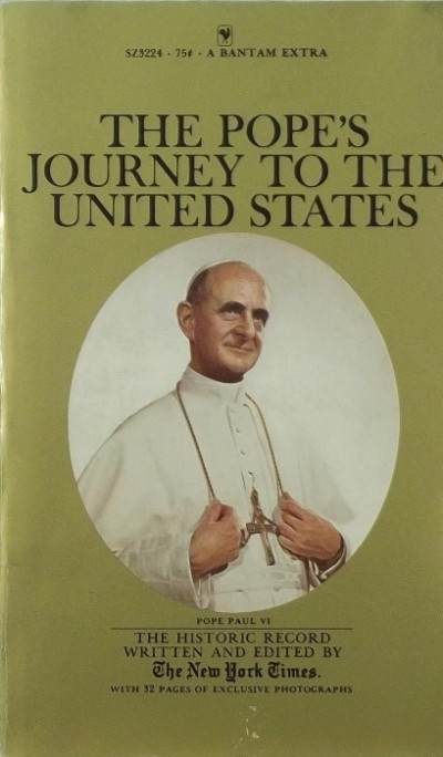 - The Pope's Journey to the United States