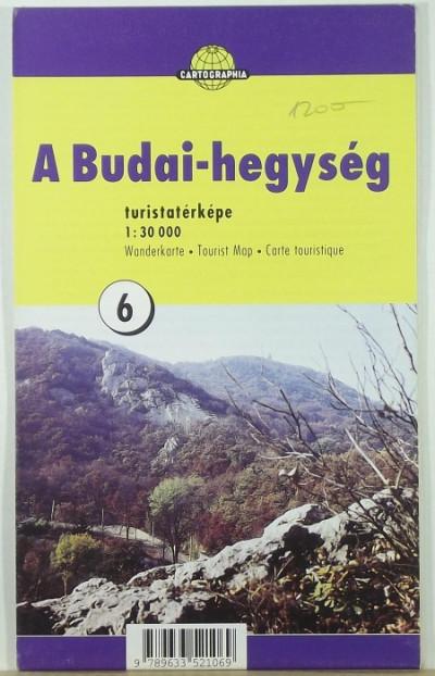 - A Budai-hegység turistatérképe