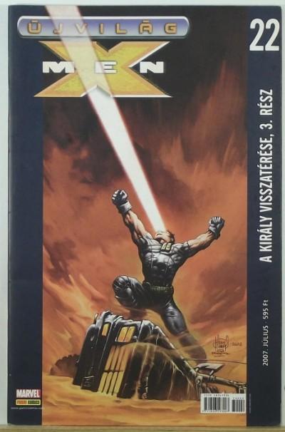 - Újvilág: X-Men 22. - A király visszatérése, 3. rész