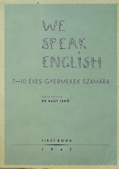 Nagy Jenő - We Speak English (dedikált)