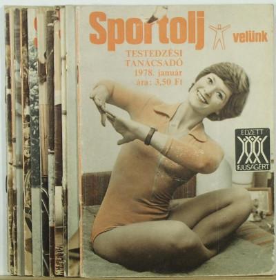 Toldy Ferenc  (Szerk.) - Sportolj velünk 1978